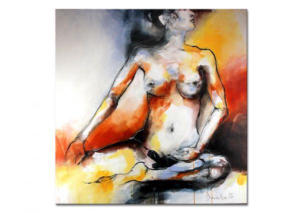 Aktgemälde Frau nackt