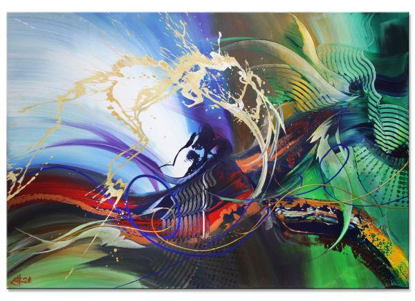 abstrakte Acrylbilder Outgrown