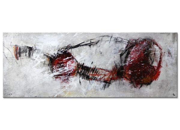 Die Zeit rast abstrakte kunst informel panorama