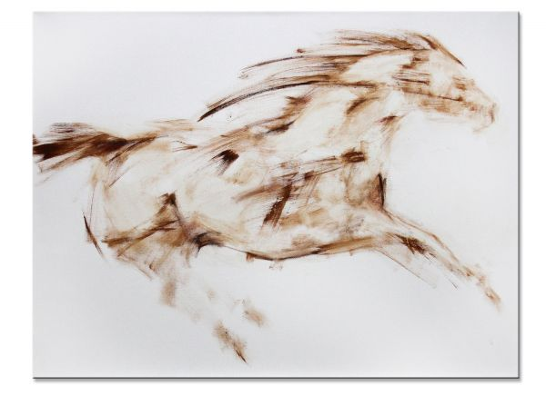 Lena Ludmilowa Acryl Gemälde Bilder modern Art Pferd