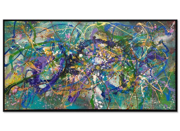 abstrakte Acrylbilder Confidant