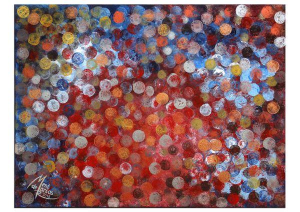 """Marcas Art: """"Geldregen"""" kunstvolles Acrylgemälde"""