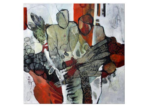 Vertrauen Gabriele Schmalfeldt kunst malerei
