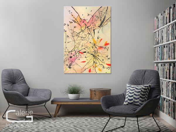 """""""Minimalist"""" modänes Unikat Gemälde, abstrakte Malerei"""