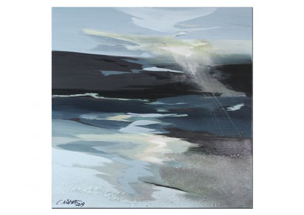Nordsee Landschaft Malerei Niehoff
