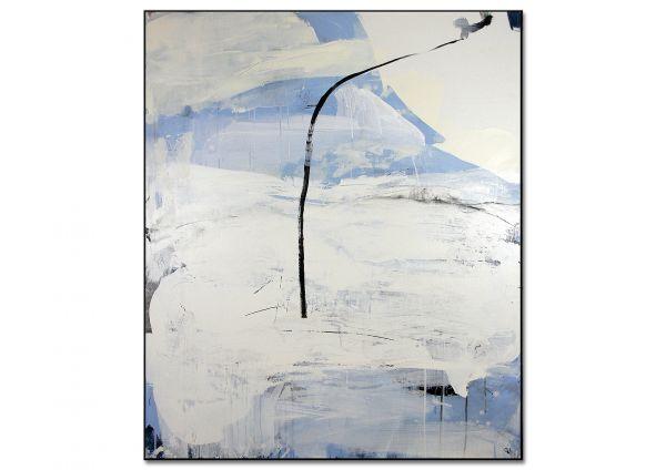 """abstrakte Galerie Kunst """"Sich seinen Freiraum angeln Nr. 1"""""""