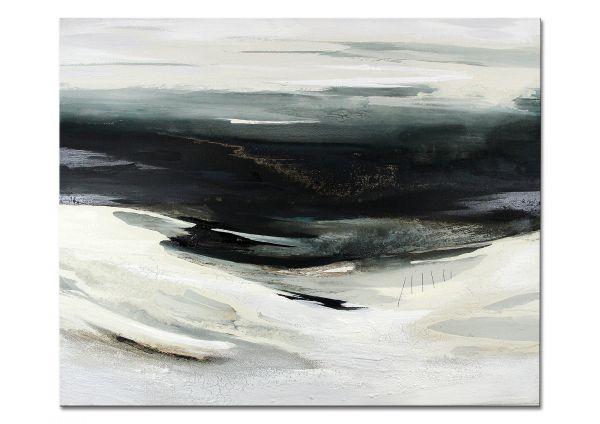 """Impressionismus, Galerie Gemälde von C.Niehoff: """"Islandwinter"""" (B&R)"""