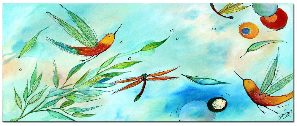 acryl gemälde Losaij Kunst Malerei
