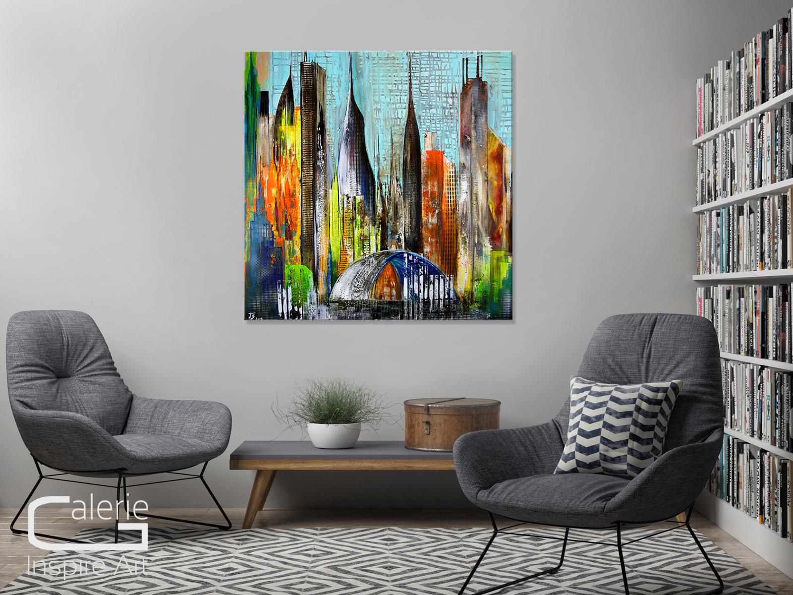 abstrakte bilder auf leinwand kaufen ausstellungsgem lde thomas stephan metropole galerie. Black Bedroom Furniture Sets. Home Design Ideas