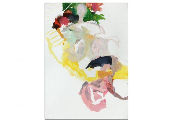 Viele Gesichter Kunst Bild Malerei