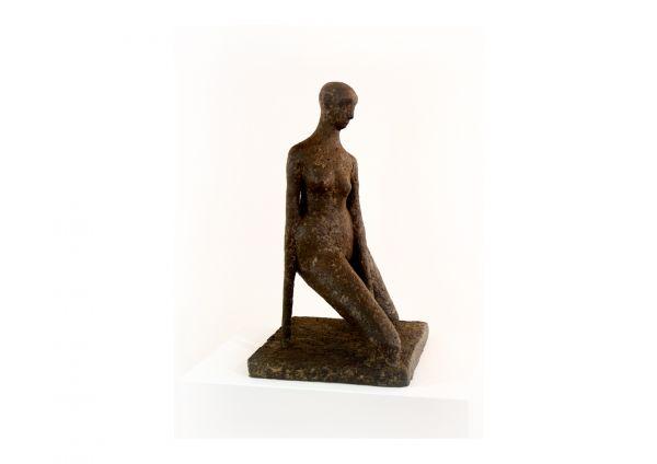 """""""Badende"""" moderne Skulptur & abstrakte Plastik"""