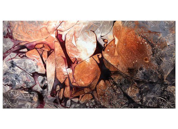 """Ankunft"" abstraktes Acryl Gemälde"