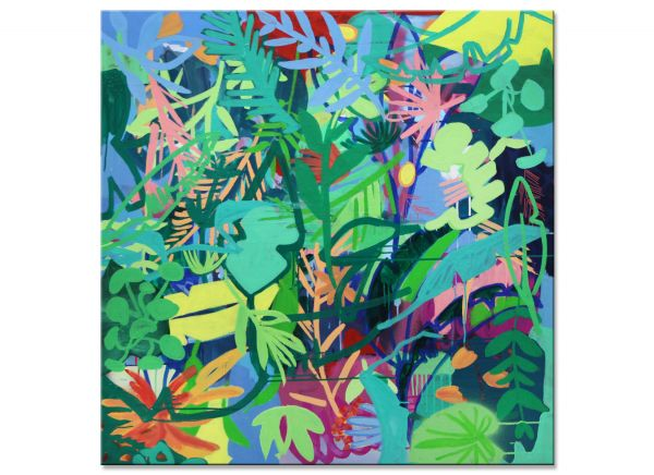 Into the Jungle painting art modern