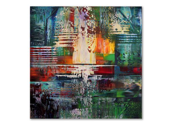 In Paradisum dieu inspire art abstrakte bilder
