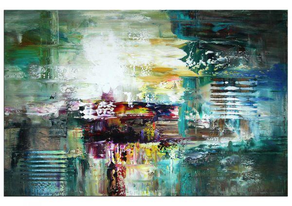 abstrakte Malerei Bilder Living