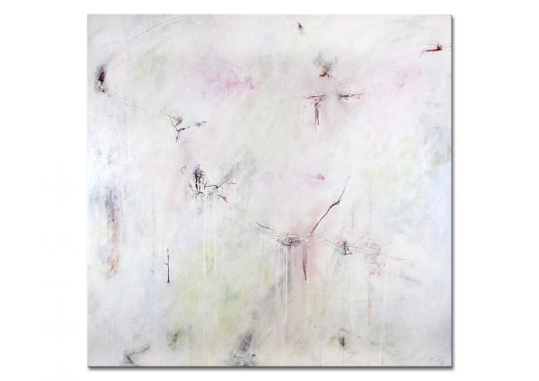 "Abstraktes Acrylgemälde, Manuela Pilz: ""Stille"""