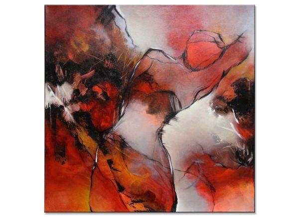 Dance through the Red Gabriele Schmalfeldt kunst malerei