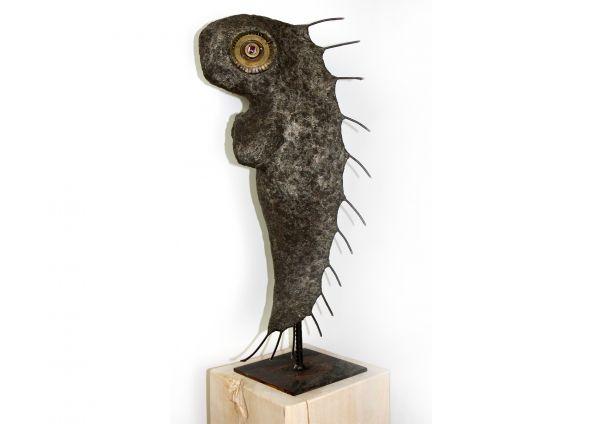 """Aus der Serie """"Spezies II"""" moderne Skulptur Bildhauerei von Katrin Jähne"""