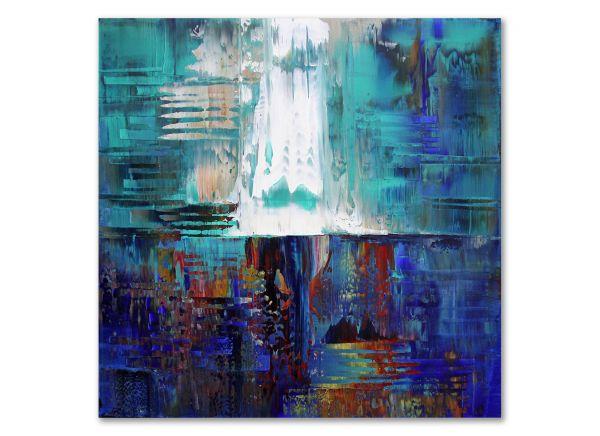 Atomic Storm Leinwand Gemälde
