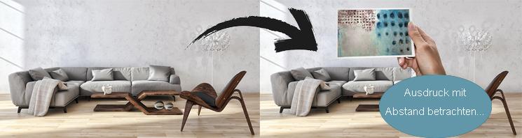 Gemälde für Wohnzimmer Kunst