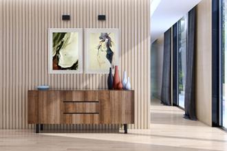 Kunst im Flur Treppenhaus