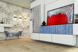 Loft Möbel Design Kunst
