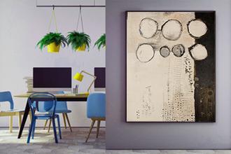 Wohnung einrichten mit Kunst