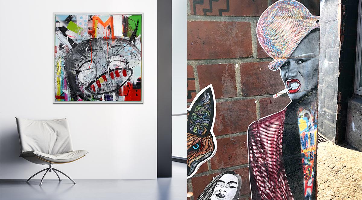 Kunstrichtung Street-art