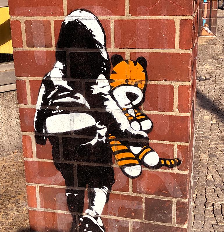 Street Art Gemälde